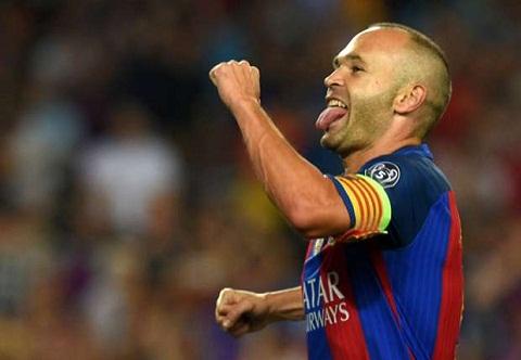 Tien ve Andres Iniesta, Barca vo dich La Liga, HLV Enrique hinh anh 2