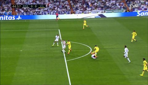 Sergio Ramos da dien kich do ra sao tran Real 1-1 Villarreal hinh anh