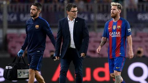 Messi chan thuong, HLV Bauza do loi cho Barcelona hinh anh