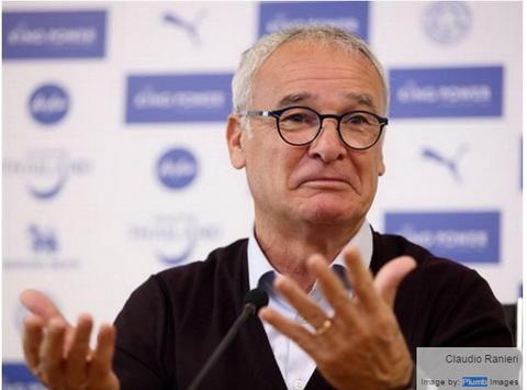 Ranieri Tai sao Leicester phai ngan MU hinh anh