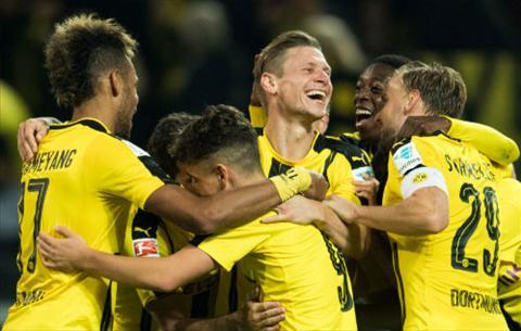 Tong hop Dortmund 3-1 Freiburg (Vong 5 Bundesliga 201617) hinh anh