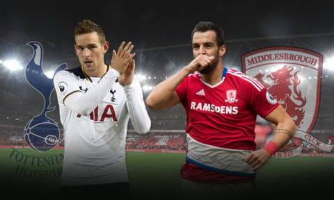 Nhan dinh Middlesbrough vs Tottenham 21h00 ngay 249 (Premier League 201617) hinh anh
