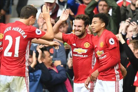 Liverpool vs MU Lo doi hinh duoc Mourinho su dung hinh anh