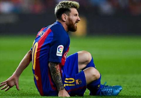 LDBD Argentina xin loi Barcelona ve chan thuong cua Messi