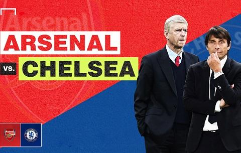 Arsenal vs Chelsea Da den luc giai ma Wenger va Conte hinh anh