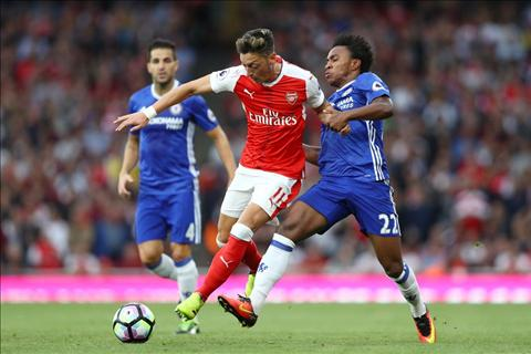 Ozil noi gi sau tran Arsenal 3-0 Chelsea hinh anh 2