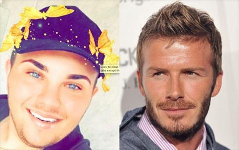 Phien ban loi cua David Beckham bi du luan len an hinh anh 2