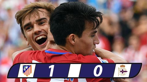 Atletico Madrid 1-0 Deportivo Nguoi hung Griezmann hinh anh
