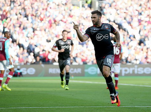 West Ham 0-3 Southampton Hien tuong tiep tuc roi khong phanh hinh anh