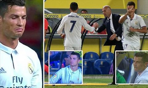 Ronaldo da ha hoa vu bi thay ra san tran dau voi Las Palmas