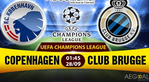 Nhan dinh Copenhagen vs Brugge 1h45 ngay 289 (Champions League 201617) hinh anh