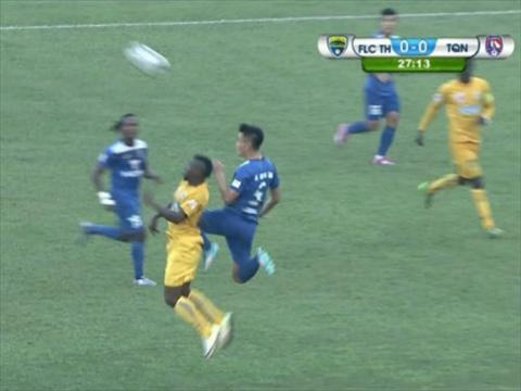 Video clip ban thang Thanh Hoa vs 2-2 Quang Ninh V-League 2016 hinh anh