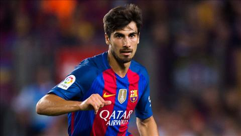 Tien ve Andre Gomes danh gia cao Messi hinh anh