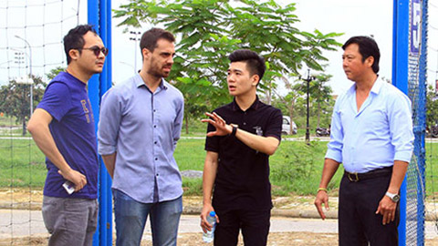 NONG Messi co the cung Barcelona sang Viet Nam hinh anh