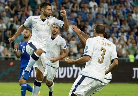 Video clip ban thang Israel vs 1-3 Italia VL World Cup 2018 hinh anh