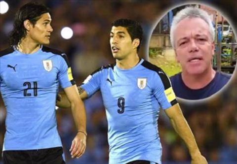Luis Suarez hon do choi mung dai thang Uruguay hinh anh