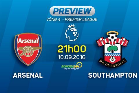 Arsenal vs Southampton (21h ngay 109) Hieu ung tu nhung hong phao moi  hinh anh