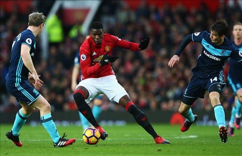 MU 2-1 Middlesbrough Ngay Pogba giai cuu MU va Mourinho hinh anh 2