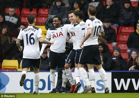 Tong hop Watford 1-4 Tottenham (Vong 19 NHA 201617) hinh anh