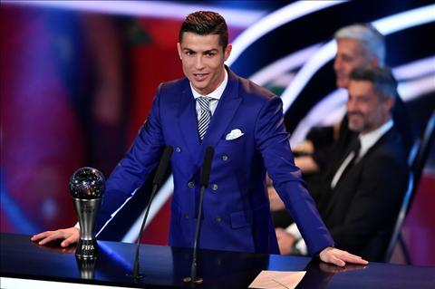 Ronaldo che gieu Barca va Messi trong le trao giai cua FIFA hinh anh