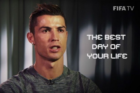 Dau la ngay hanh phuc nhat cuoc doi Ronaldo hinh anh