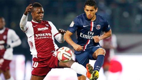Nhan dinh PSG vs Metz 03h05 ngay 121 (Cup Lien doan Phap 201617) hinh anh
