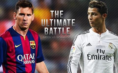 Goc nhin Messi va Ronaldo dang hoan doi vi tri cho nhau hinh anh