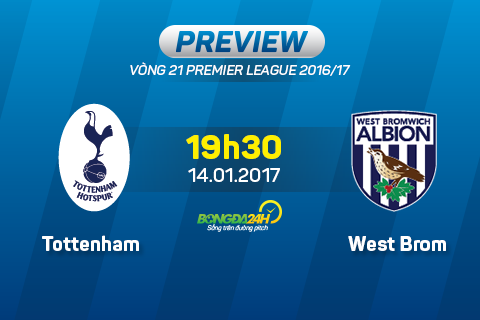 Tottenham vs West Brom (19h30 ngay 141) Kho chan Ga trong hinh anh