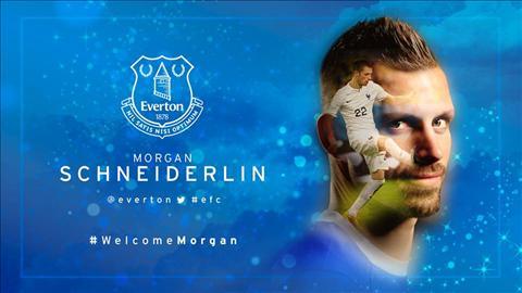 Chinh thuc Morgan Schneiderlin cap ben Everton voi gia 24 trieu bang hinh anh