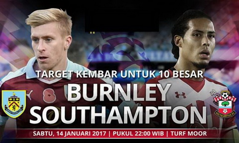 Nhan dinh Burnley vs Southampton 22h00 ngay 1401 (NHA 201617) hinh anh