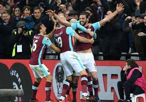 Tong hop West Ham 3-0 Crystal Palace (Vong 21 NHA 201617) hinh anh