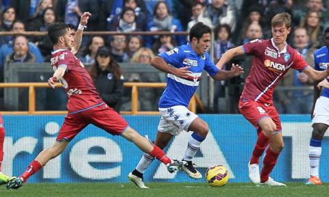 Nhan dinh Sampdoria vs Empoli 21h00 ngay 1501 (Serie A 201617) hinh anh