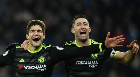 Gary Cahill cho rang Chelsea van song tot ma khong co Diego Costa.