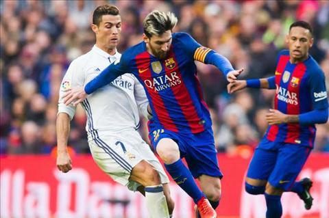 An dinh thoi gian thi dau tran El Clasico luot ve La Liga 201617 hinh anh
