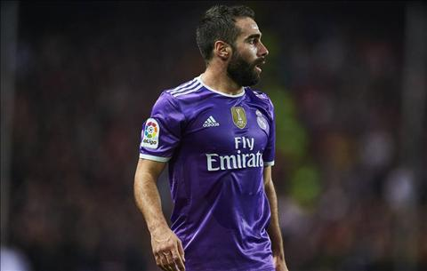Real Madrid mat Dani Carvajal dai han hinh anh