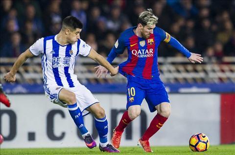 Sociedad vs Barca (3h15 ngay 201) Ga khong lo quen duong cu hinh anh