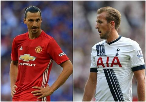 Huyen thoai Arsenal chon Ibra va Kane cho Chiec giay vang hinh anh
