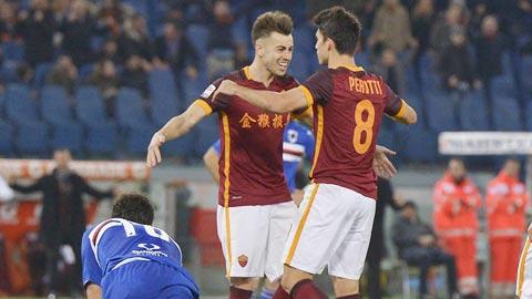 Nhan dinh AS Roma vs Sampdoria 03h00 ngay 201 (Coppa Italia 201617) hinh anh