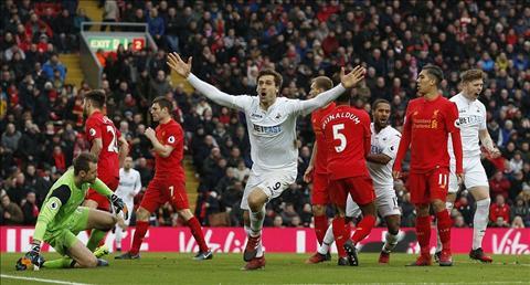 Klopp cho rang Swansea gap may kha nhieu