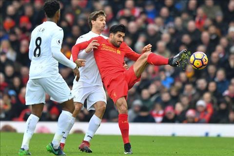 Liverpool 2-3 Swansea Bay gio thang may roi, Klopp hinh anh