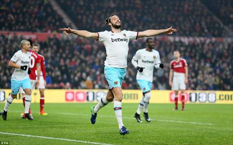 Tong hop Middlesbrough 1-3 West Ham (Vong 22 NHA 201617) hinh anh