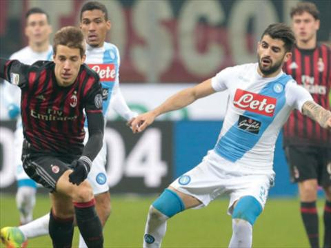 Tong hop AC Milan 1-2 Napoli (Vong 21 Serie A 201617) hinh anh