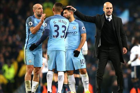 Man City 2-2 Tottenham Co Guardiola, co bong da vi nghe thuat hinh anh