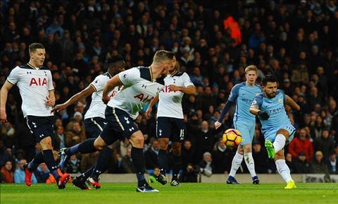 Man City 2-2 Tottenham Chi hay thoi la chua du hinh anh