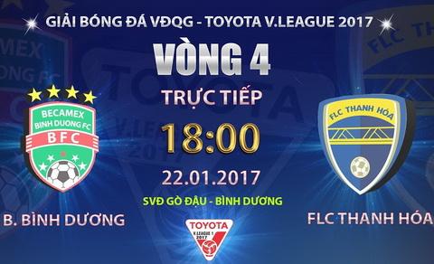 Binh Duong vs Thanh Hoa