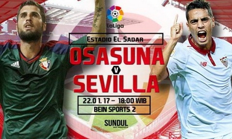 Nhan dinh Osasuna vs Sevilla 18h00 ngay 2201 (La Liga 201617) hinh anh