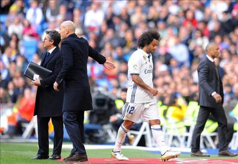 Modric va Marcelo gia nhap dan thuong binh cua Real Madrid