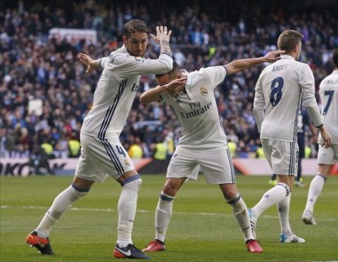 Ramos an mung khi lap cu dup