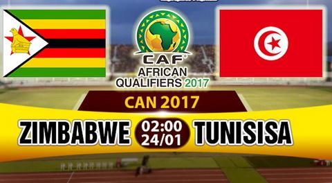 Nhan dinh Zimbabwe vs Tunisia 02h00 ngay 241 (Bang B CAN 2017) hinh anh
