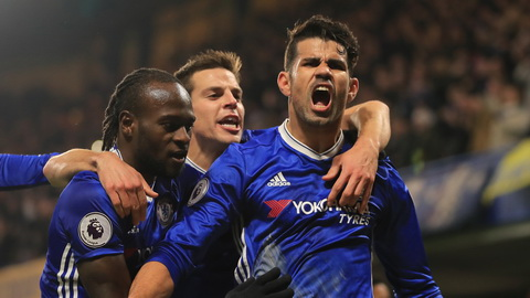 Conte noi ve tuong lai Diego Costa sau chien thang.